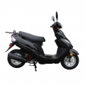 EPA 50cc gasolina Motor Scooters China preto